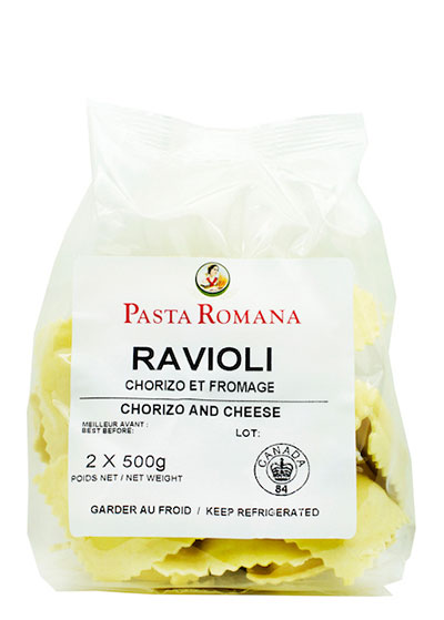 Ravioli Chorizo & Cheese