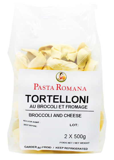 Tortelloni Broccoli & Cheese